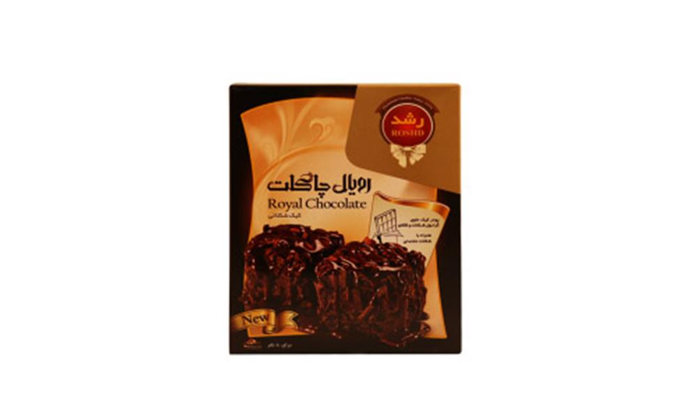 پودر کیک رویال چاکلت رشد