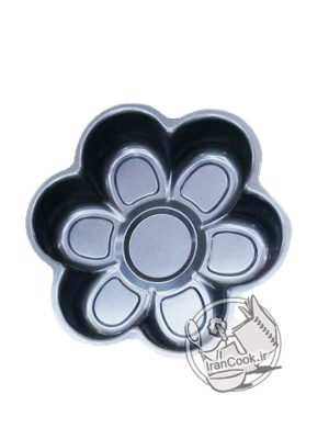 قالب فلزی تفلون شش گل