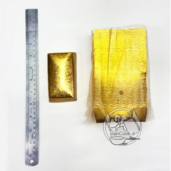 کپسول کیکس کوچک طلایی
