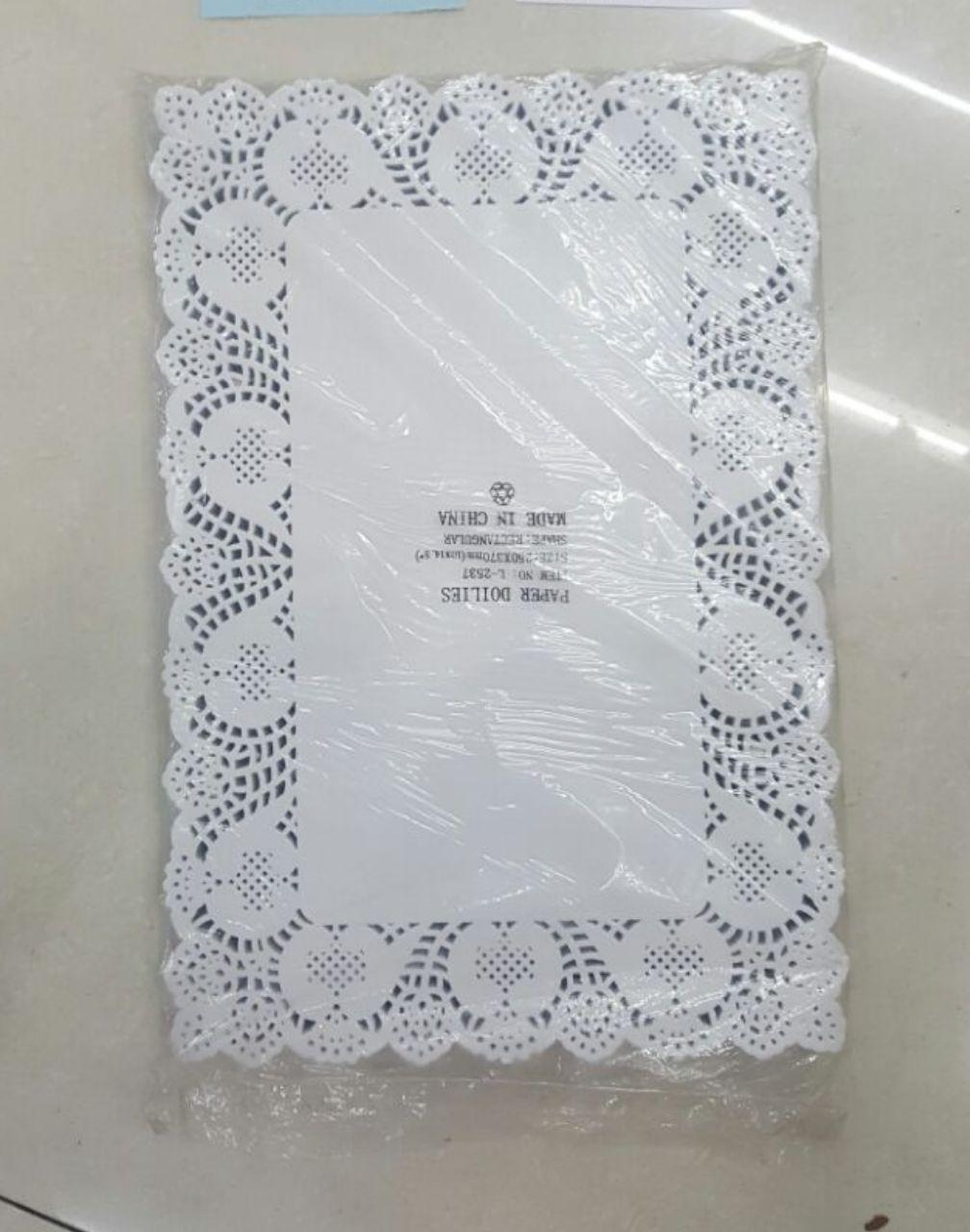 دستمال تزیینی زیر کیک