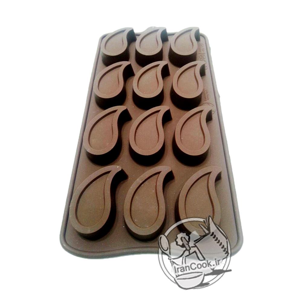 قالب شکلات طرح بته جقه