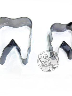 کاتر استیل طرح دندان