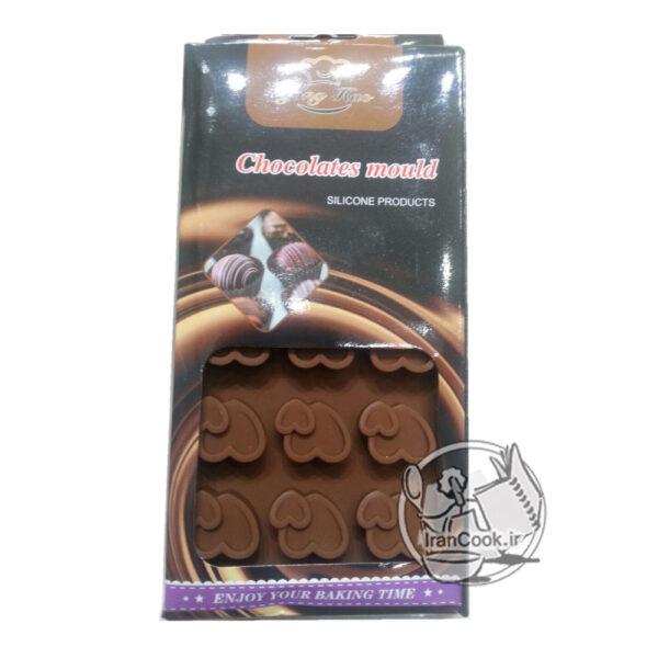 قالب شکلات طرح قلب