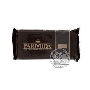 شکلات پارمیدا تلخ شمشی