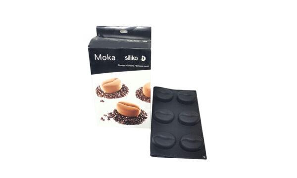 قالب سیلیکون سه بعدی طرح دانه قهوه
