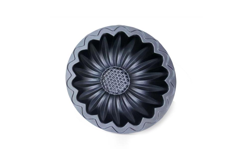 قالب فلزی تفلون طرح گل آفتاب گردان