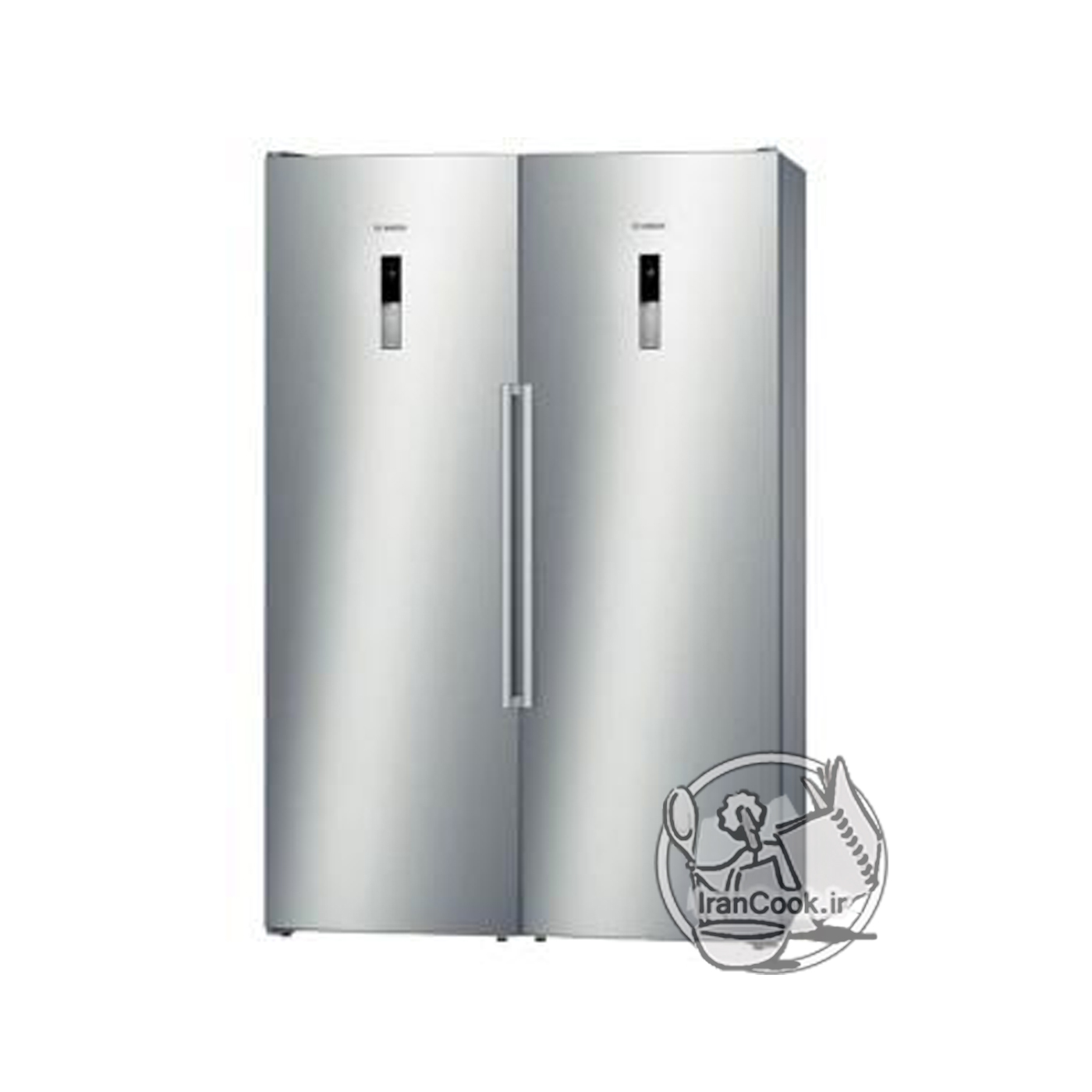یخچال فریزر دوقلو BOSCH مدل KSV36BI304