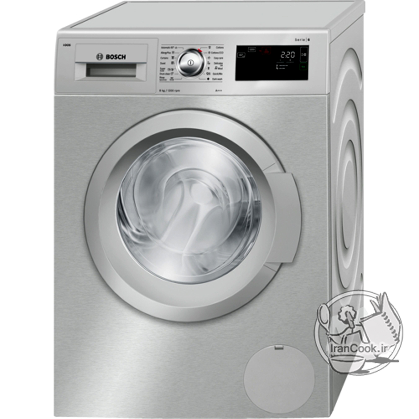 ماشین لباسشویی بوش مدل WAT2466XIR