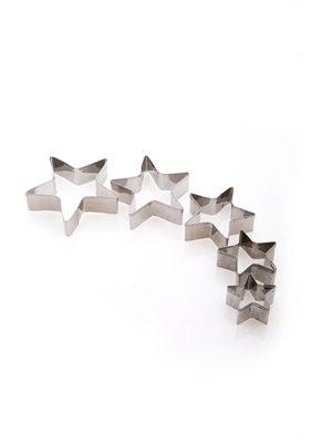 قالب برش 5 عددی طرح ستاره