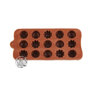 قالب شکلات طرح گل سلیکونی