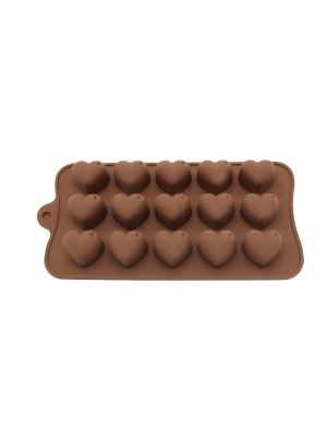 قالب شکلات طرح قلب سیلیکونی