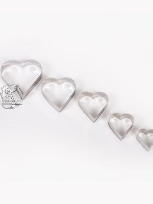 قالب برش 5 عددی طرح قلب