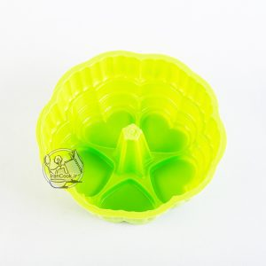 قالب ژله پلاستیکی 5 قلب