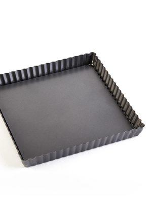 قالب تفلون تارت مربع کف جدا