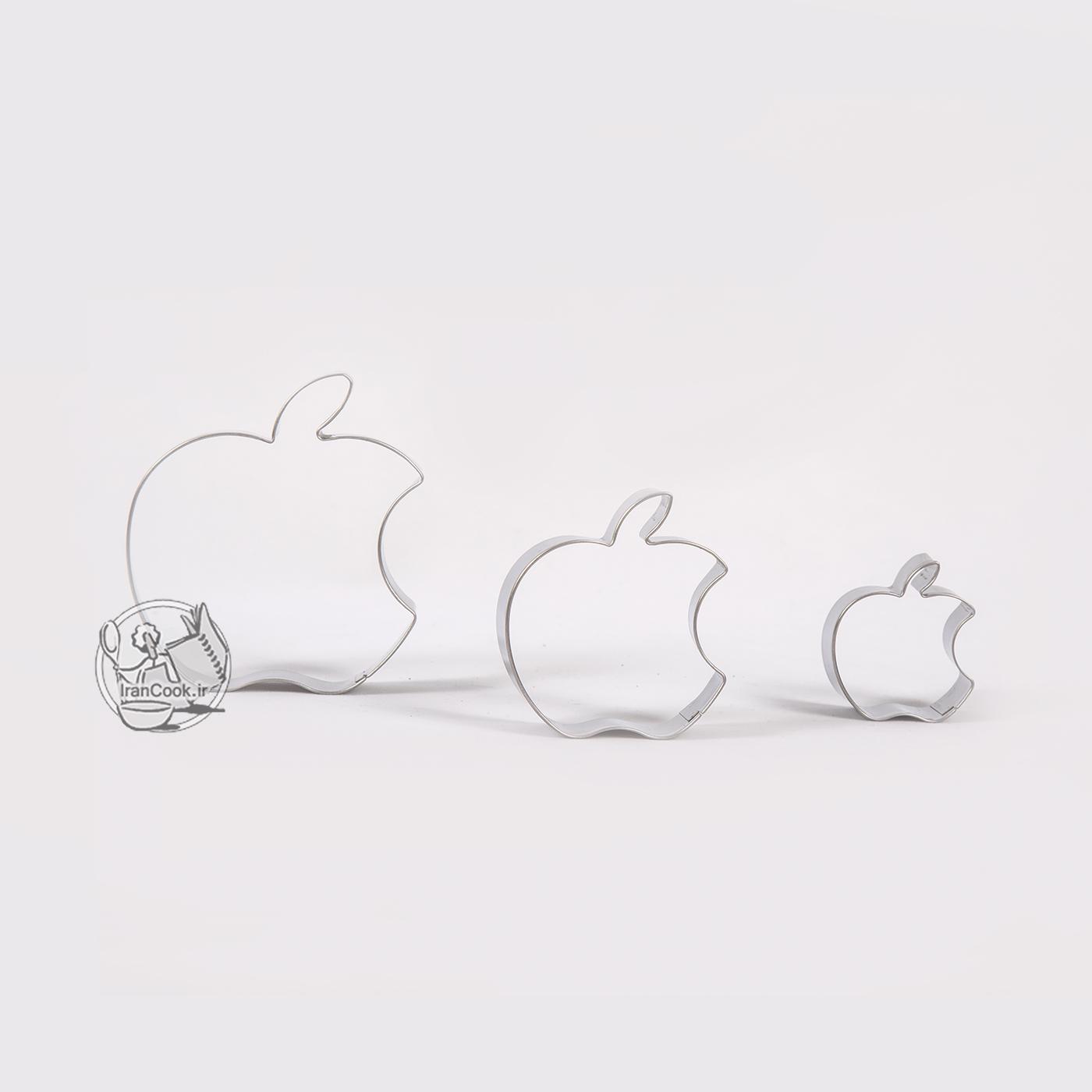قالب برش 3 عددی طرح اپل