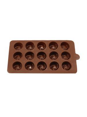 خرید قالب سیلیکونی شکلات طرح پیچ