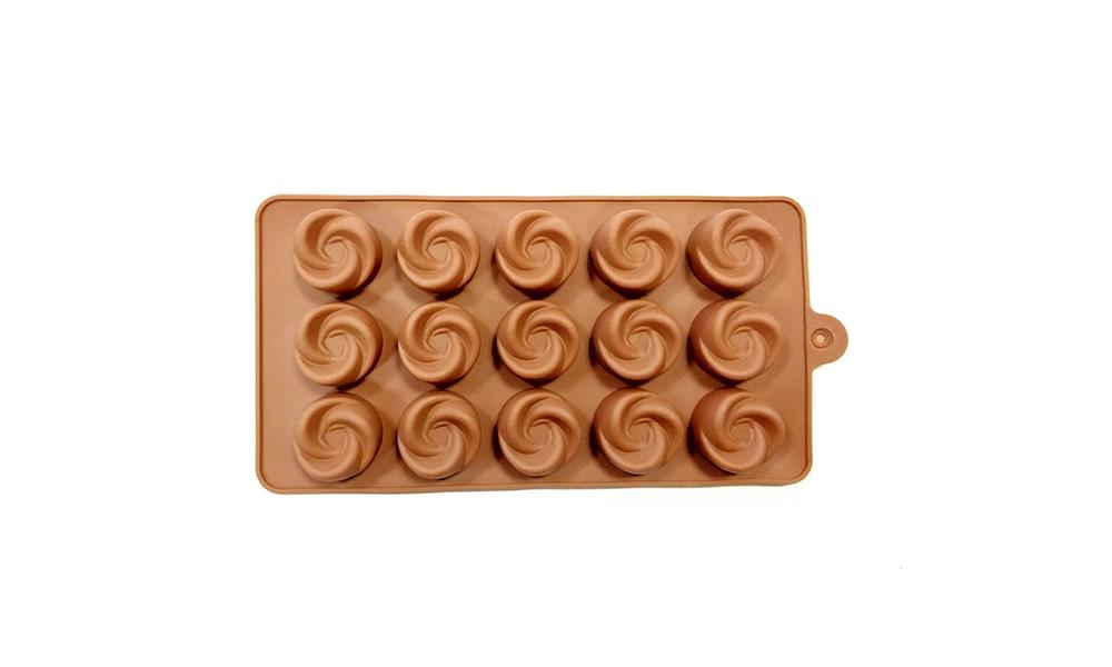 قالب شکلات طرح پیچ