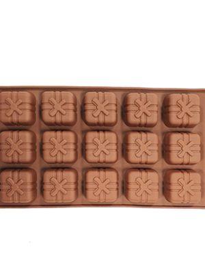 قالب سیلیکون شکلات طرح کادو