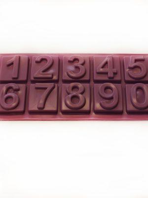 خرید قالب سیلیکونی اعداد