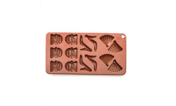 قالب سیلیکون شکلات