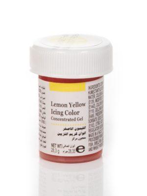 رنگ خوراکی ژله ای زرد طرح ویلتون