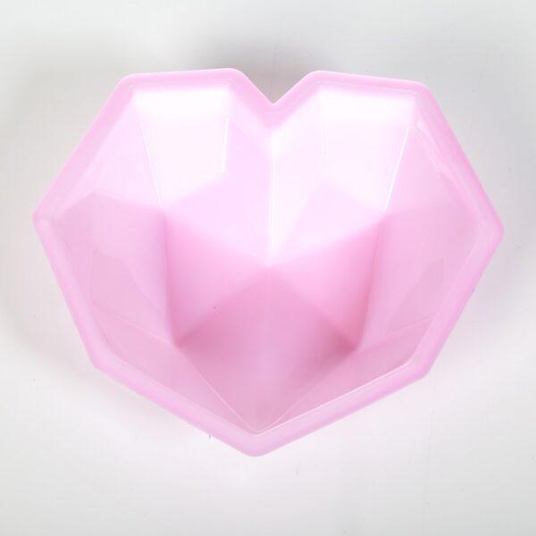 قالب ژله پلاستیکی قلب سه بعدی