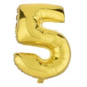 بادکنک فویلی عدد پنج