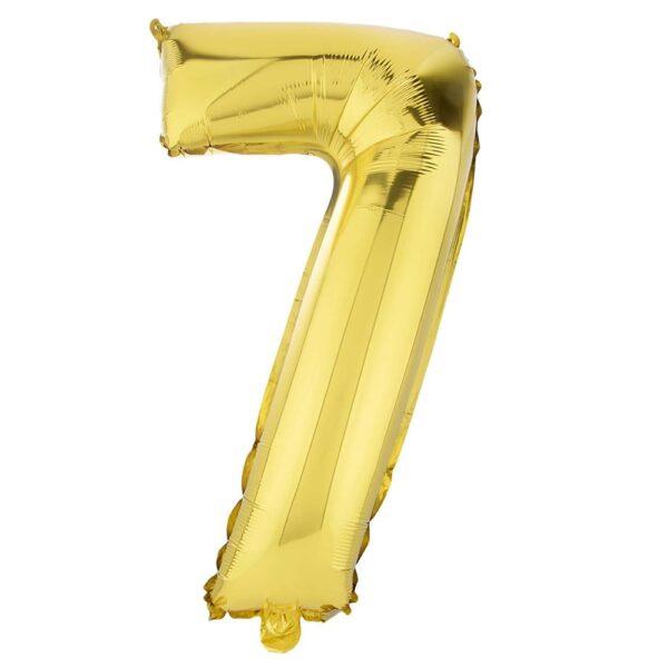 بادکنک فویلی عدد هفت