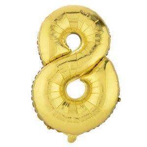بادکنک فویلی عدد هشت