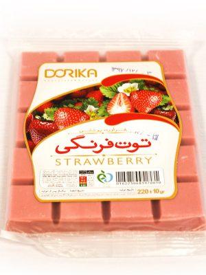 شکلات تخته ای توت فرنگی دریکا