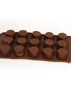 قالب شکلات سیلیکونی طرح تنه درخت