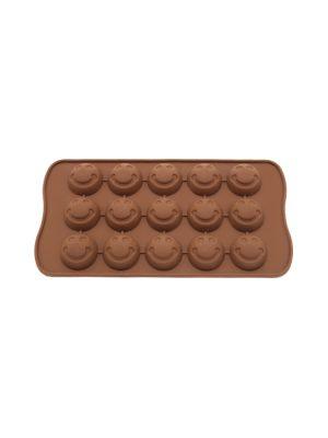 قالب شکلات سیلیکونی طرح ایموجی