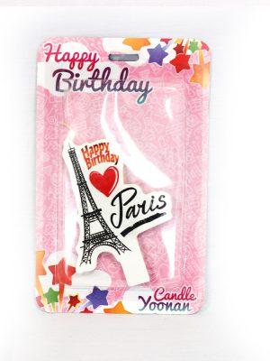شمع تولد پاریس