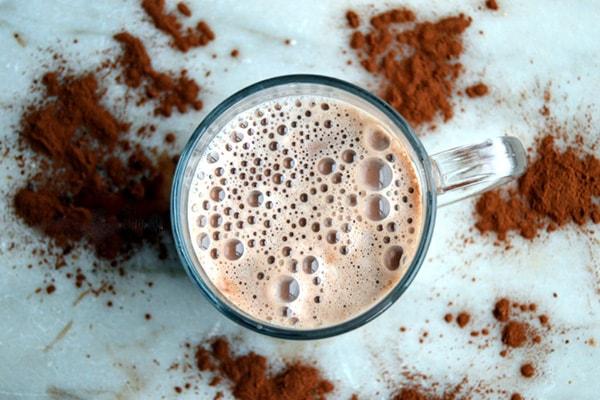 شیرکاکائو با پودر کاکائو