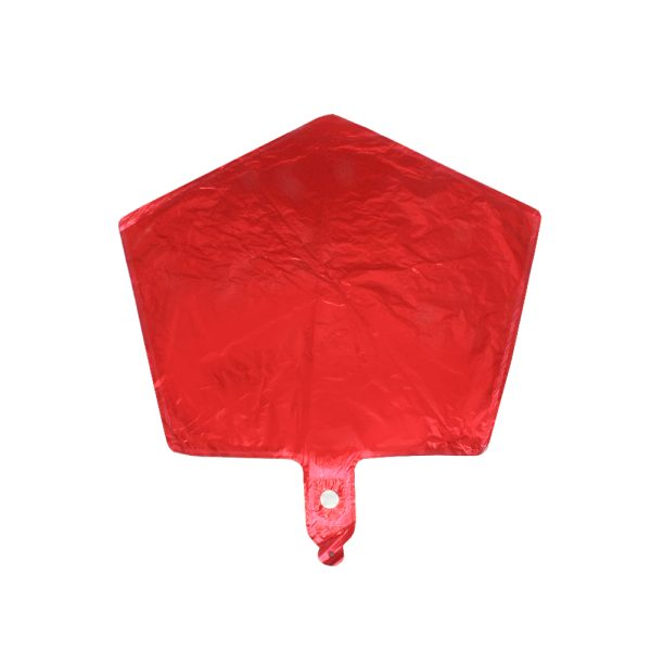 بادکنک فویلی ستاره قرمز