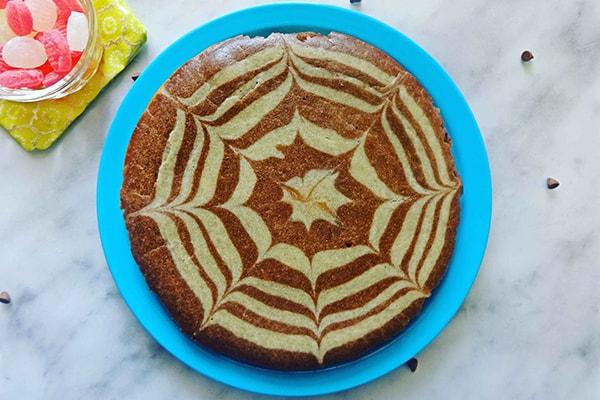 تزیین کیک زبرا خانگی