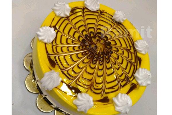 کیک زبرا با ژله