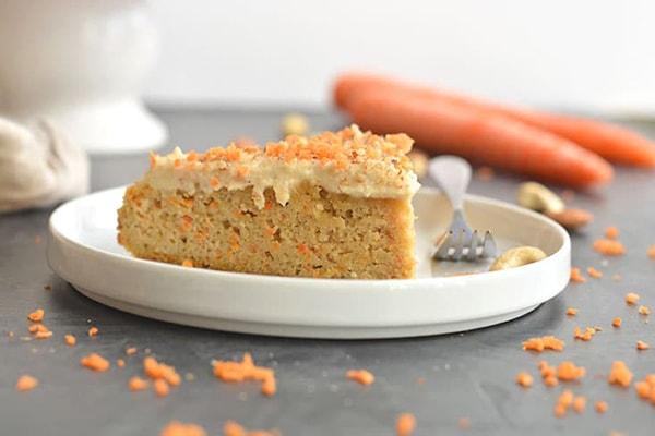 کیک هویج وگان