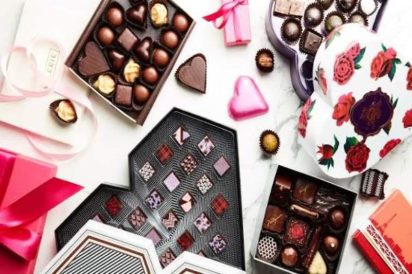 انواع شکلات ولنتاین