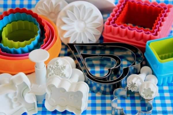 انواع کاتر برش شیرینی پزی