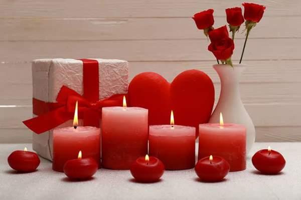 شمع ولنتاین