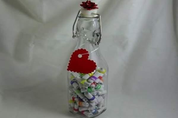 شیشه عشق هدیه ولنتاین