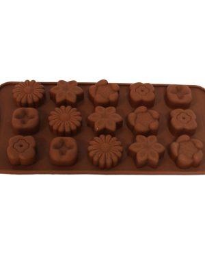 قالب شکلات چند گل