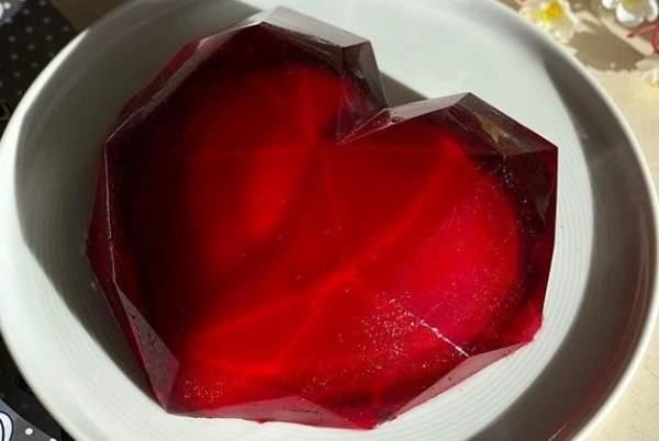 ژله قلب سورپرایز