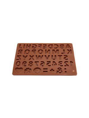 قالب شکلات سیلیکونی طرح حروف انگلیسی