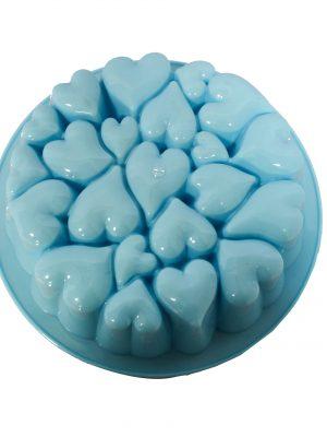 خرید قالب پلاستیکی قلب فانتزی