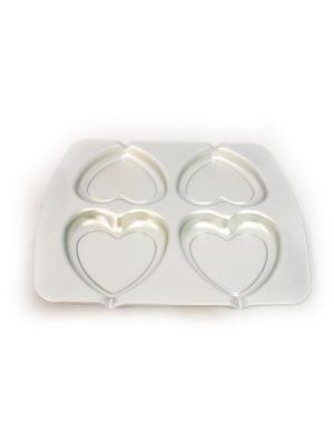 خرید قالب آلومینیوم قلب 4 تایی