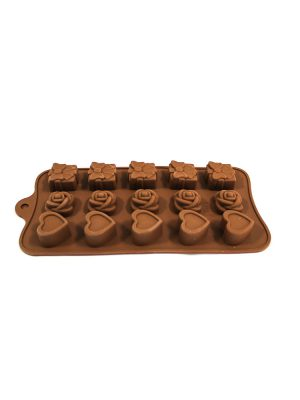 خرید قالب شکلات سیلیکونی 3 طرح