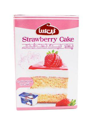 خرید پودر کیک توت فرنگی بن سا