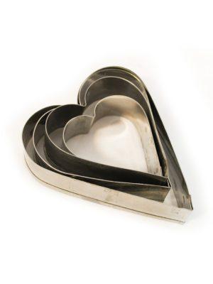 خرید کاتر برش قلب 4 تایی